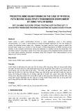 Bức xạ Mimo dự đoán trong trường hợp đường vật lý di chuyển trong môi trường đa đường sử dụng chuỗi Taylor
