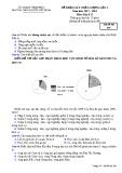 Đề khảo sát chất lượng lần 4 môn Địa lí lớp 11 năm 2018 - THPT Nguyễn Viết Xuân - Mã đề 304
