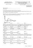 Đề thi HK 2 môn Hóa học lớp 12 năm 2017-2018 - THPT Yên Lạc 2 - Mã đề 743