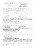Đề thi KSCL lần 4 môn GDCD lớp 10 năm 2018 - THPT Nguyễn Viết Xuân - Mã đề 308