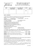 Đề thi HK 2 môn tiếng Anh thí điểm lớp 11 năm 2017-2018 - Sở GD&ĐT Thái Nguyên - Mã đề 001
