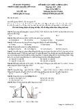 Đề khảo sát chất lượng lần 4 môn Hóa học lớp 11 năm 2018 - THPT Nguyễn Viết Xuân - Mã đề 308