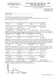 Đề thi HK 2 môn Hóa học lớp 12 năm 2017-2018 - THPT Yên Lạc 2 - Mã đề 132