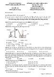 Đề khảo sát chất lượng lần 4 môn Hóa học lớp 11 năm 2018 - THPT Nguyễn Viết Xuân - Mã đề 102