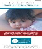Ebook Tự tin khi nuôi con bằng sữa mẹ