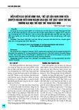 Diễn biến các chỉ số hình thái, thể lực của nam sinh viên chuyên ngành điền kinh ngành giáo dục thể chất năm thứ hai trường Đại học thể dục thể thao Bắc Ninh
