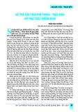Vai trò của chùa kim phong - Thần đinh với phật giáo Quảng Bình