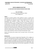 CSR in banking sector a literature review and new research directions