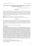 Những tính cách liên quan đến ý hướng khởi nghiệp của sinh viên Trường Đại học An Giang