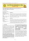 Một số hợp chất polyphenol được phân lập từ thân cây Chiêu liêu cườm