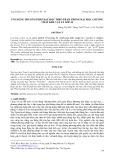Ứng dụng phương pháp dạy học theo Trạm trong dạy học chương chất khí - Vật lý lớp 10