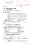 Đề kiểm tra HK 1 môn Địa lí lớp 10 năm 2017-2018 - THPT Nguyễn Trung Trực - Mã đề 485