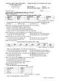 Đề kiểm tra HK 1 môn Địa lí lớp 11 năm 2017-2018 - THPT Nguyễn Trung Trực - Mã đề 357