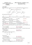 Đề kiểm tra HK 2 môn Hóa học lớp 11 năm 2018 - Phan Ngọc Hiển - Mã đề 002