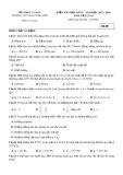Đề kiểm tra HK 2 môn Vật lí lớp 10 năm 2018 - THPT Phan Ngọc Hiển - Mã đề 002