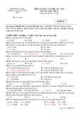 Đề kiểm tra HK 2 môn Hóa học lớp 10 năm 2018 - Phan Ngọc Hiển - Mã đề 127