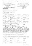 Đề kiểm tra HK 2 môn Hóa học lớp 10 năm 2018 - Sở GD&ĐT TP Đà Nẵng - Mã đề 132