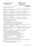 Đề kiểm tra HK 1 môn Vật lí lớp 10 năm 2018 - THPT Gia Nghĩa - Mã đề 108