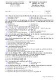 Đề kiểm tra HK 2 môn GDCD lớp 12 năm 2018 - THPT Nguyễn Trãi - Mã đề 132