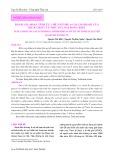 Đánh giá hoạt tính ức chế enzyme α-glucosidase của dịch chiết từ một số loài rong biển