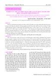 Nghiên cứu chế tạo thiết bị sấy thủy sản sử dụng thanh gốm hồng ngoại kết hợp với đối lưu