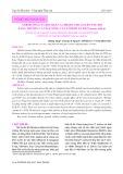 Ảnh hưởng của độ mặn và chế độ cho ăn lên tốc độ tăng trưởng và tỉ lệ sống của tôm he Ấn Độ Penaeus indicus