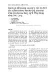 Đánh giá tiềm năng xây dựng các mô hình sản xuất tích hợp theo hướng sinh thái khép kín cho các làng nghề đồng bằng sông Cửu Long