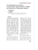 The development of real-time communication network based on Zigbee and Ethernet for Photovoltaic systems