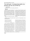 Tính nhất quán - đa dạng trong nghiên cứu, phê bình văn học của Lê Đình Kỵ