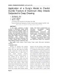 Application of a Dung's Model to Predict Ductile Fracture of Aluminum Alloy Sheets Subjected to Deep Drawing