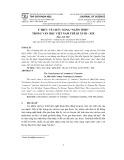 """Ý thức về chức năng """"ngôn tình"""" trong văn học Việt Nam thế kỉ XVIII – XIX"""