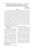 Determinant of the factors influencing tax compliance of enterprises in Dong Nai province