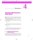 Bài giảng Chapter 4: Function minimization algorithms