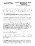 Đề thi KSCL đội tuyển HSG môn Vật lí lớp 12 năm 2017-2018 - Sở GD&ĐT Vĩnh Phúc
