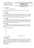 Đề thi KSCL đội tuyển HSG môn Hóa học lớp 12 năm 2017-2018 - Sở GD&ĐT Vĩnh Phúc