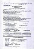 Đề thi chọn HSG lớp 9 cấp tỉnh môn tiếng Anh năm 2016-2017 - Sở GD&ĐT Đồng Tháp