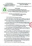 Quyết định số 2341/QĐ-STNMT-CCBVMT