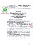 Quyết định số 2356/QĐ-TNMT-CCBVMT