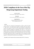 IFRS compliance in the year of the pig: Hong Kong impairment testing
