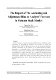 The impact of the anchoring and adjustment bias on analysts' forecast in Vietnam stock market