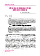 Vai trò của công tác đào tạo cán bộ công đoàn trong hội nhập quốc tế