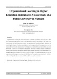 Organizational learning in higher education institutions: A case study of a public university in Vietnam