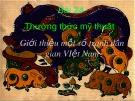 Bài giảng Mỹ thuật - Bài 24: Thường thức mỹ thuật - Giới thiệu một số tranh dân gian Việt Nam