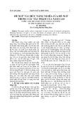 Đề ngữ và chức năng nghĩa của đề ngữ trong các tác phẩm của Nam Cao