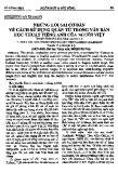 Những lỗi sai cơ bản về cách sử dụng quán từ trong văn bản học thuật Tiếng Anh của người Việt