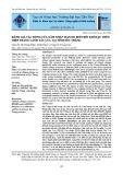 Đánh giá tác động của xâm nhập mặn do biến đổi khí hậu trên hiện trạng canh tác lúa tại tỉnh Sóc Trăng