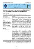 Ứng dụng kỹ thuật khai phá dữ liệu đánh giá thích nghi đất đai cây cao su trên địa bàn huyện Phú Giáo, tỉnh Bình Dương