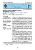 Bảo quản lạnh cá lóc phi lê (channa striata) kết hợp xử lý acid acetic