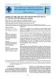 Nghiên cứu điều kiện hoạt hóa enzyme protease nội tại từ thịt đầu tôm thẻ (Litopenaeus vannamei)