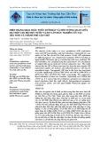 Hiện trạng khai thác nước dưới đất và mối tương quan giữa hạ thấp cao độ mực nước và sụt lún đất: Nghiên cứu tại Trà Vinh và thành phố Cần Thơ